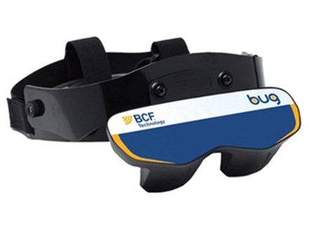 BUGs veterinary ultrasound goggles